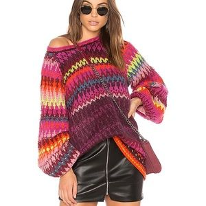 Free People Castles in the Sky Chunky Knit Sweater